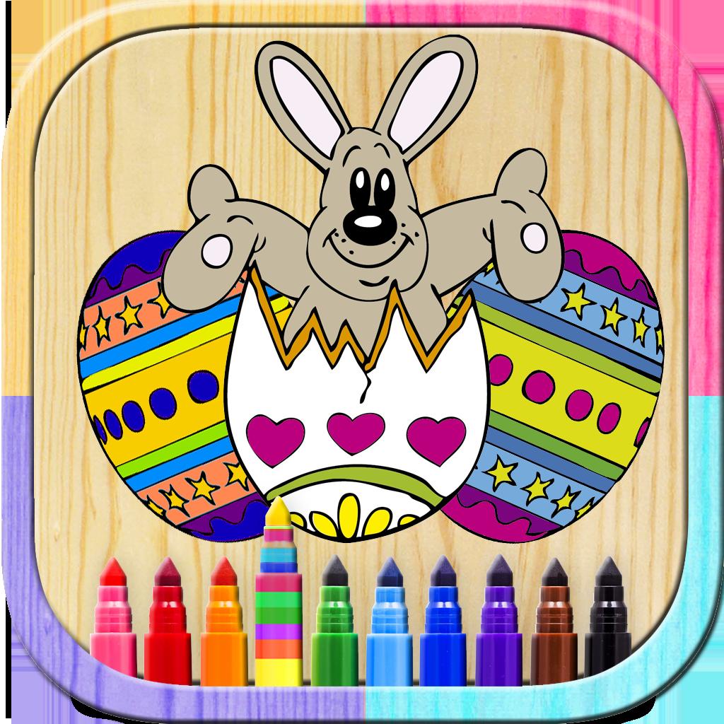 Pinta Huevos Mágico: Libro para colorear para niños y niñas para ...
